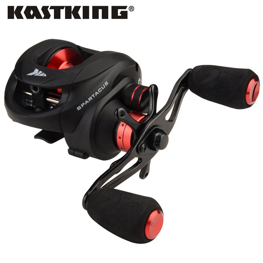 KastKing Spartacus Max 8kg Drag Baitcasting Reel 12 BBs Dual Brake System Lure Fishing Reel for