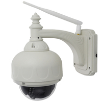The Low Cost Of Mini Outdoor Waterproof Speed Dome IP Camera With 4X Optical Zoom ONVIF