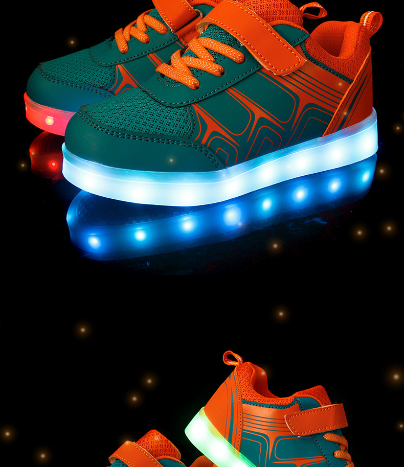 Street Led Sneakers Kids 1