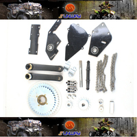 YIMATZU Motorcycle Drive the conversion Kit for Bicuycle Engine