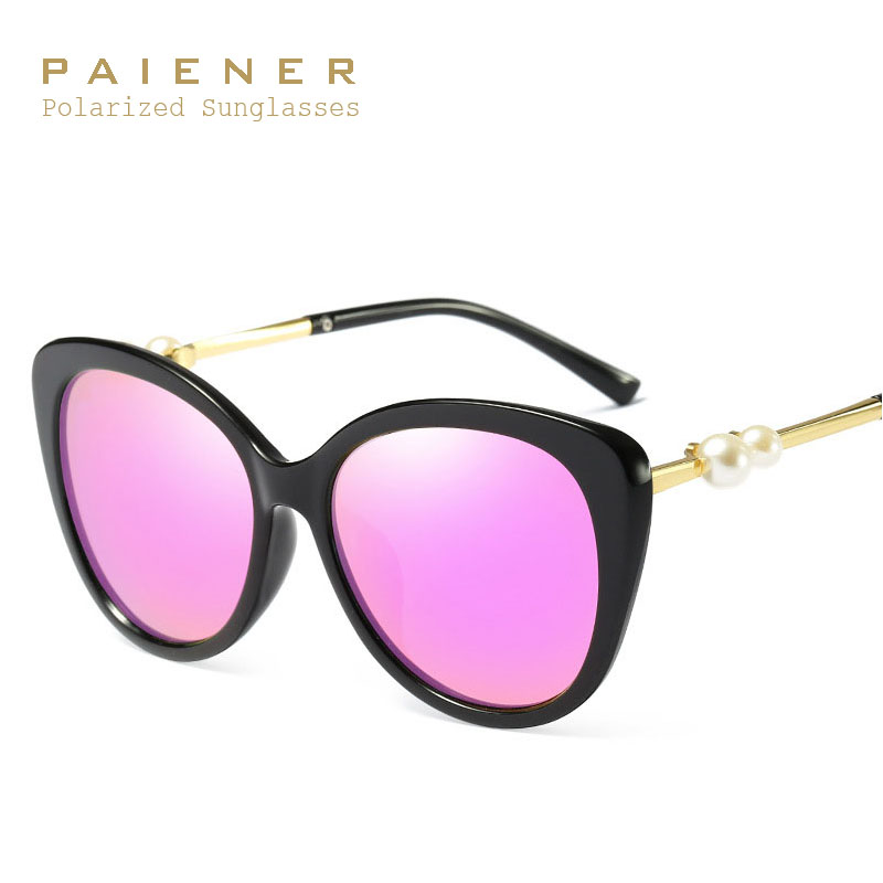 polarized sunglasses woman brand 2017 New Design oculos feminino Sun Glasses Female pearl Goggles Luxury shades oculos de sol