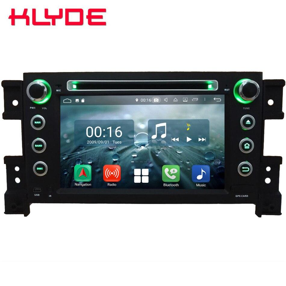 7 Восьмиядерный 4G Android 8,1 4G B ram 6 4G B rom автомобильный DVD мультимедийный плеер Радио Стерео головное устройство для Suzuki Grand Vitara 2005-2013