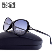 Blanche Michelle 2018 High Quality Rectangle Polarized Sunglasses Women UV400 Sun Glasses Gradient Sunglass oculos With Box