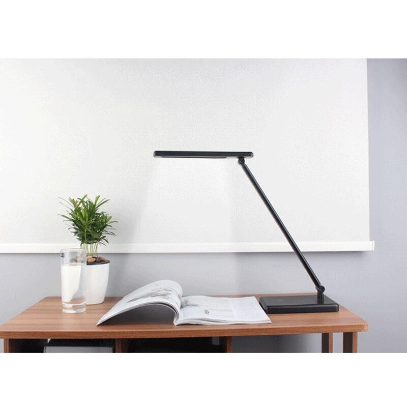 NOUVELLE LED Light Touch Lampe de Bureau, pliage Lampe de Bureau, Protection des yeux, Rechargeable Bureau Lampe de Bureau Lampe de Bureau Noir/Blanc