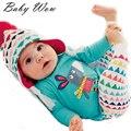 Autumn Girls Toddler Outfits 2016 Newborn Cartoon Donkey Pattern Baby Boy Clothes Set Long Sleeve T-shirt Striped Pant tyh-20489