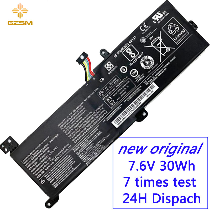GZSM Laptop Battery L16L2PB2 For Lenovo 5000 5000-15 Batterys L16S2PB2 Battery For Laptop L16C2PB2 2ICP6/55/90 Laptop Battery