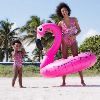 2017 Mother Daughter Clothes Family Matching Swimsuit Swimwear bikini Look Clothing Summer Beach Bathing Suit