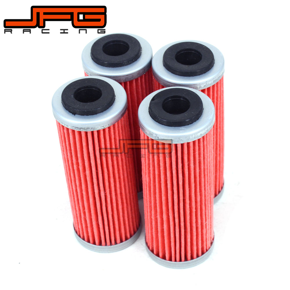 4pcs Oil Filter Cleaner For KTM SMR EXC XC-F XCF SXF EXCF EXC-F XCF-W XCFW FREERIDE 250 300 350 400 450 XCW XC-W 530 SIX DAYS
