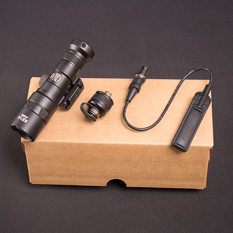 caca m300 arma rifle lanterna 400 lumen 04