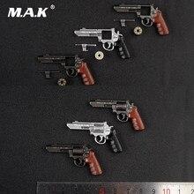 AS041 6 stili 1:6 soldato figura accessori scena M & P Revolver pistola modello di arma per 12 pollici soldato Action Figure