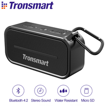 Tronsmart Element T2 4.2 Na Zewnątrz Wodoodporny Głośnik Przenośny i Mini Głośnik Bluetooth-Czarny