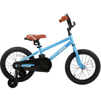 Totem Kids Bike With DIY Stickers For Boys Girls Kids Bicycle With Training Wheel 12 14