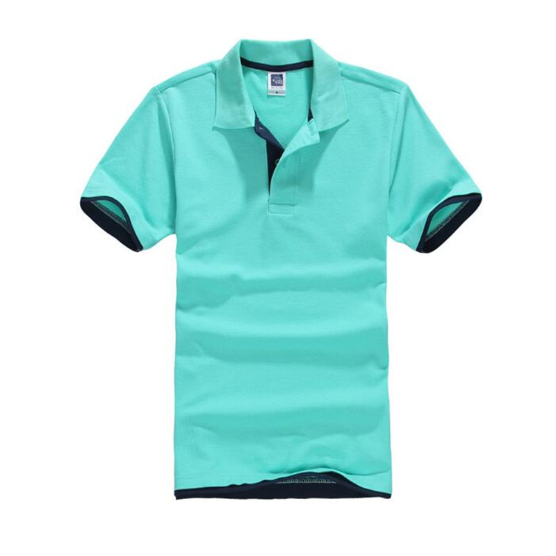 LEFT ROM New Men   POLO   Shirt High Quality men slim fit   POLO   shirt men short sleeve jerseys Summer Mens leisure   POLO   Shirts XXXL