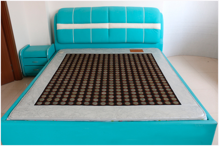2016 beat seller Jade Germanium Stone Mattress Jade Health Care Physical Therapy Mat Tourmaline Heat Mattress Size 1.2*1.9M free shipping jade germanium stone mattress jade health care physical therapy mat tourmaline heating mattress eye cover1 2 1 9m