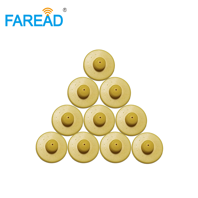X100pairs Best Quality UHF RFID Electronic Ear Tag For Animals Such As Pig ,sheep,cow Etc Animal Tracking Counting
