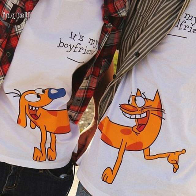Yemuseed Kwaii Cartoon Tumblr White Couple Tees Tops Students Harajuku T Shirts Xxxl Wmt313 Couple Tee Harajuku T Shirttee Top Aliexpress
