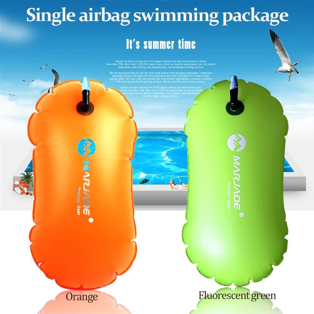 Einzigen Airbag Verdickt Schwimmen Paket Rettungsring Boje Verhindern Ertrinken Aufblasbare Schwimm Ball