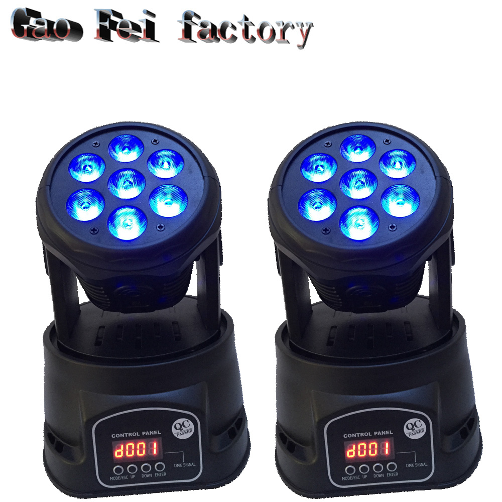 LED Moving Head Mini stage 7x12w RGBW 360 degree Moving Rotating wash light Disco Club DJ party DMX 14 channelsLED Moving Head Mini stage 7x12w RGBW 360 degree Moving Rotating wash light Disco Club DJ party DMX 14 channels