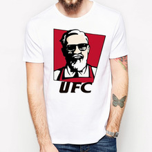 conor mcgregor t shirt men fashion tshirt punk rock clothing short sleeve men tee shirts cool male t-shirt anime man tops