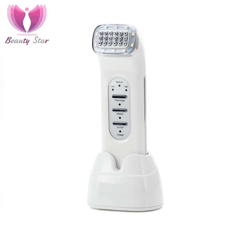 Beauty Star RF Lifting Skin Wrinkle Removal Beauty Machine Dot Matrix Facial Radio Frequency Face Lifting