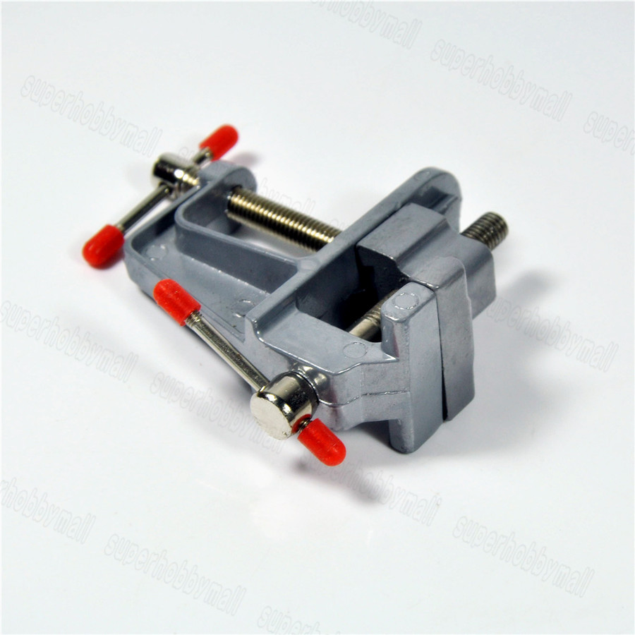 Mini Hand Tool Alu Table Vise W/Clamp for Crafts Building soldering RC Model Kit