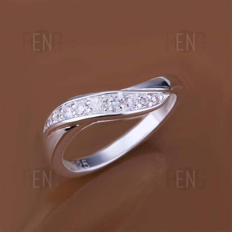 R159 925 Silver Plated New Design Finger Ring For #2685Olivia ...