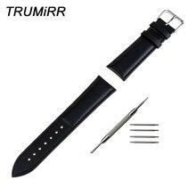 Calf Genuine Leather Watchband +Tool for Diesel Men Women Watch