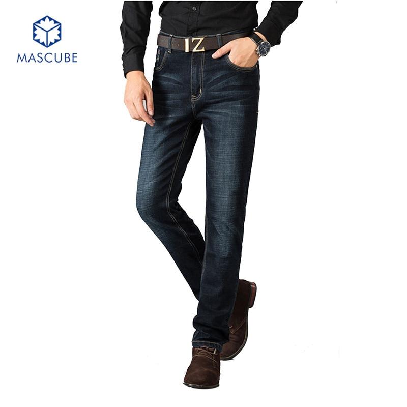 Корейских мужчин джинсы мужчины летом тонкий срез прямой участок брюки большой размер мужская повседневная узкие брюки лето грузов брюки