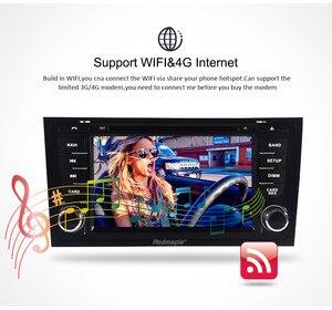 """Image 5 - 7 """"IPS アンドロイド 9.0 カー Dvd ステレオ Autoradio アウディ A6 S6 RS6 1997 + マルチメディアオーディオラジオ Wifi gps ナビゲーションヘッド"""