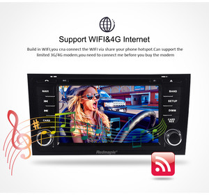 "Image 5 - 7 ""IPS Android 9.0 รถ DVD สเตอริโอ Autoradio สำหรับ AUDI A6 S6 RS6 1997 + เสียงมัลติมีเดียวิทยุ WIFI GPS Navigation headunit Player"