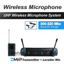 Zmvp PGX14 UHF профессиональная беспроводная система караоке микрофон Системы с PGX нательный передатчик лацкан петличный микрофон 800-820 МГц