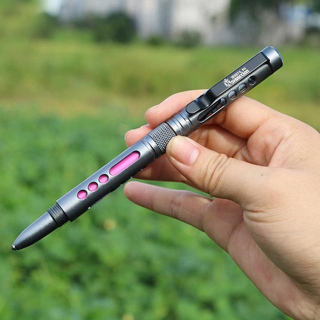 Легкий Вес Самооборона Самооборона Тактический Ручка Функциональная Ручка Красочные Случайных Цветов Дешевые Хорошее Качество