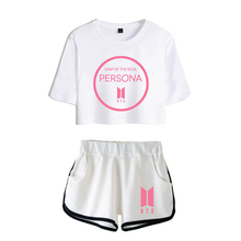 BTS Map Of The Soul: PERSONA Crop Top & Pants Set