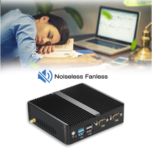 Fanless 2COM Mini Computer with Power Aadapter