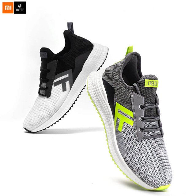 Man Sports Shoes Cross Lightweight Elastic Luminous Breathable Refreshing Damping Non-slip Running Sneaker For Xiaomi FREETIEMan Sports Shoes Cross Lightweight Elastic Luminous Breathable Refreshing Damping Non-slip Running Sneaker For Xiaomi FREETIE