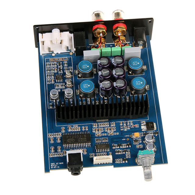 New SMSL A2 Audio Digital Home Theater Amplifier ,support 2 RCA Inputs and 3.5mm Headphone Jack Input 5