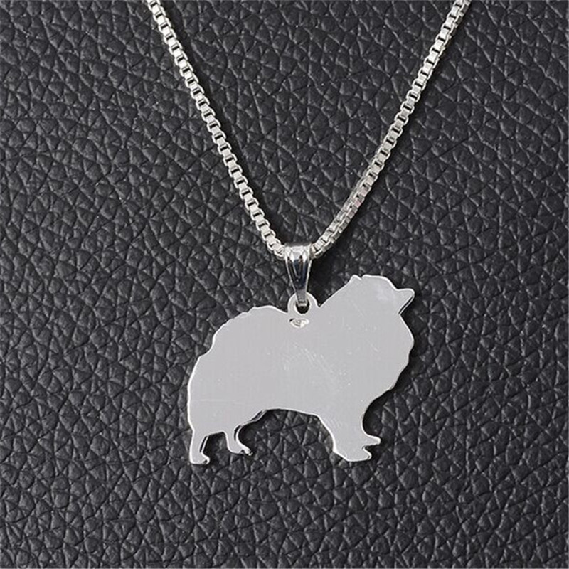 Rongqing 10 pcslot fashion animal pendant jewelry pomeranian rongqing 10pcslot small dog breed chihuahua charm necklace aloadofball Image collections