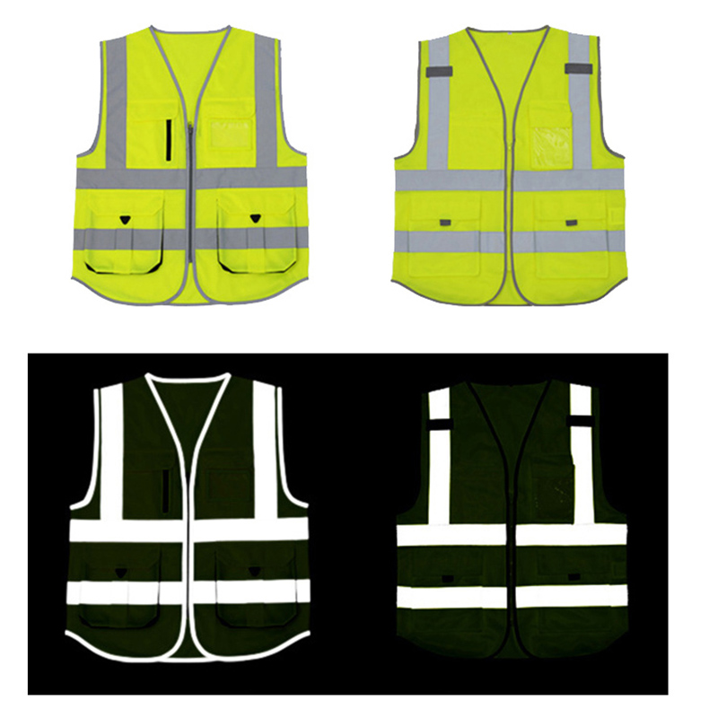 Back To Search Resultssports & Entertainment Hi Viz High Visibility Waistcoat Reflective Safety Vest For Construction Traffic Fluorescent Tops Visible Wear Coat Jacket Various Styles