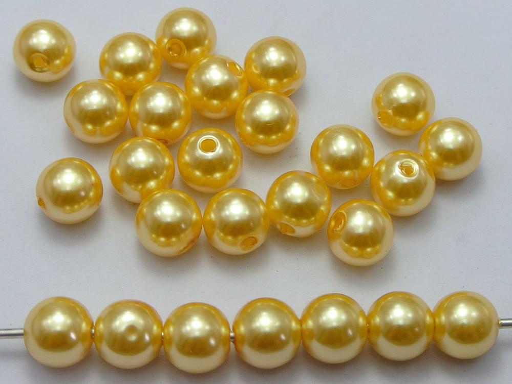 Argento Rotolo di perle perline Catena di perline in ABS Stella a cinque punte Corda decorativa Decorazione della casa per matrimoni fai-da-te 10 metri//rotolo