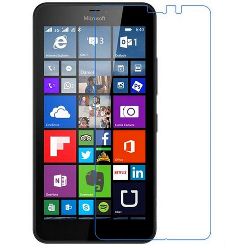 0.26mm Tempered Glass For Nokia Lumia 640xl 640 Xl 2.5d Arc Edge 9h Hard Ultra Thin Screen Protector With Clean Tools Fine Craftsmanship