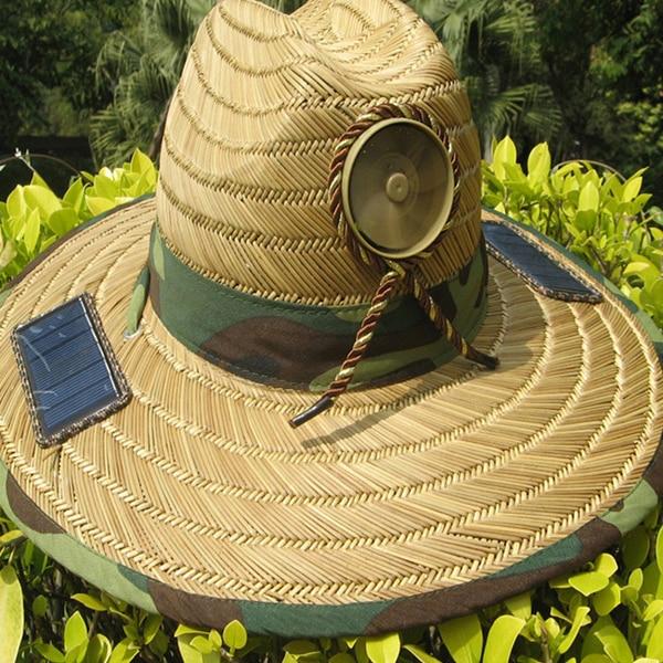 Anti Heatstroke Solar control Powered Fan Sun Hat Cap Lierihattu with  Cooling Cool Fan for Farmer Fishing Hiking-in Solar Controllers from Home  Improvement ... effe226d419
