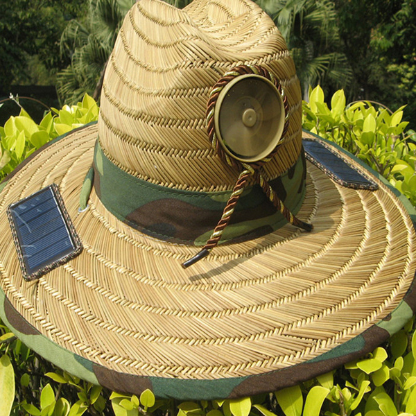 Anti Heatstroke Solar control Powered Fan Sun Hat Cap Lierihattu with  Cooling Cool Fan for Farmer Fishing Hiking 29e074de6a8