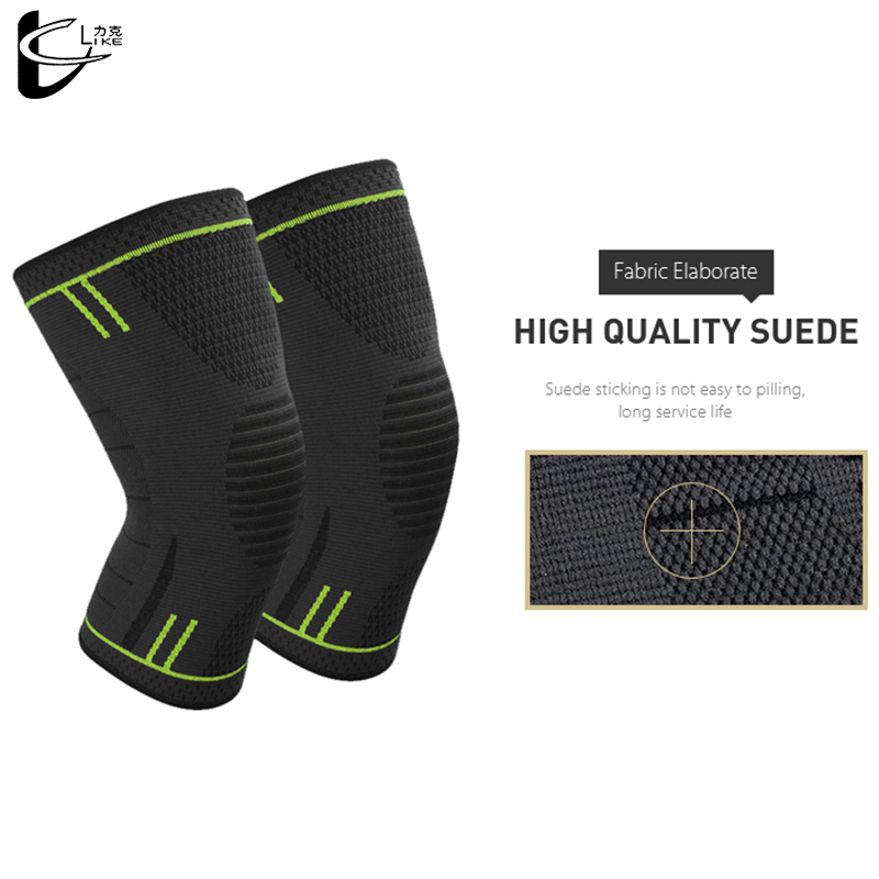 Knee Pads 2pcs Protector Windproof Keep Warm Sports Safety Compression Support Sleeve Comfortable Wear Breathable Knee