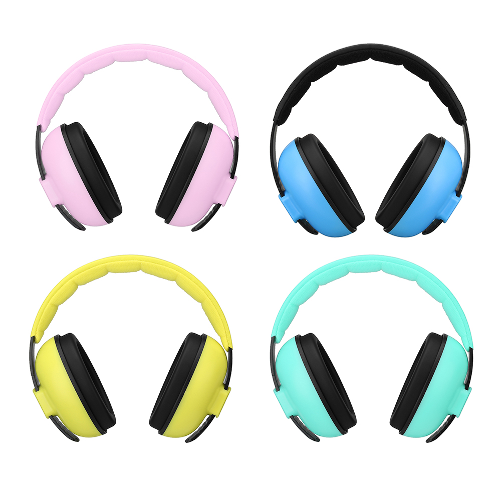 Ear Protector Child Hearing Protector Anti-noise Soft Earmuffs For Kids Noise Reduction Ear Protection Earmuff Sleeping Workplace Safety Supplies
