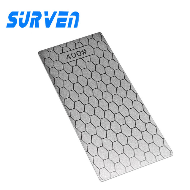 SURVEN Diamond Knife Sharpening Stone Whetstone Grit Disc 400# S2 Kitchen Knife Sharpener Grindstone Sharpen Knives Tools