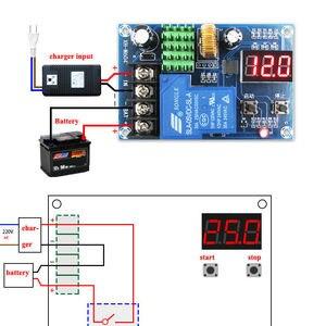 Image 1 - DC 6~60v 12V 24V 48V Lead acid Li ion battery charger control charging controller module protection switch