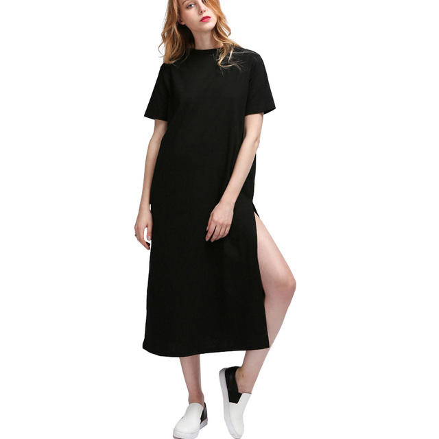 Autumn Maxi Shirt Dress Women Kyliejenner Vintage Casual Sexy Bodycon Party Wrap Beach Boho Summer Black Long Plus Size Dresses 2