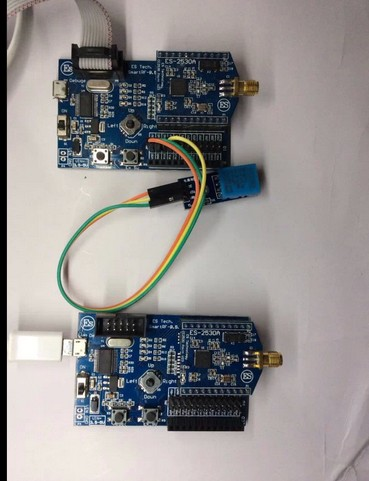006, ZigBee double node wireless temperature and humidity acquisition LabVIEW upper computer