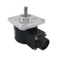 CALT rotary encoder replace EL63D1000Z5/28P8S3MR ABZ Phase Push pull 1000 1500 2500PPR 63mm flange optical incremental encoder
