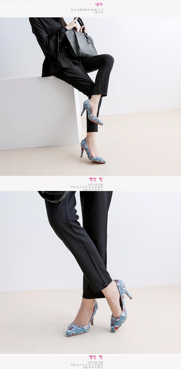 New arrival Denim Ladies Shoes pointed toe high heels Free Shipping! HTB1PHZTSpXXXXaFaXXXq6xXFXXXI
